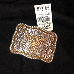 Accessories - NWT-Longhorn Beltbuckle